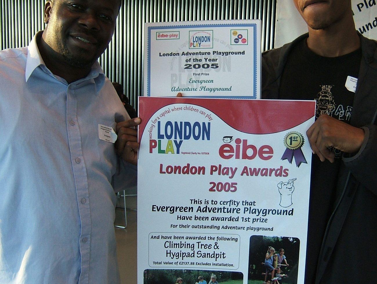 Evergreen 2005 Winners